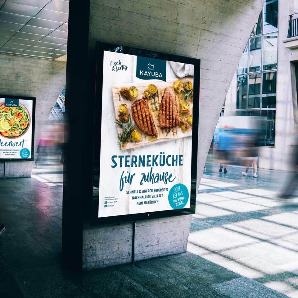 Kayuba Plakate Fisch Sterneküche für zuhause