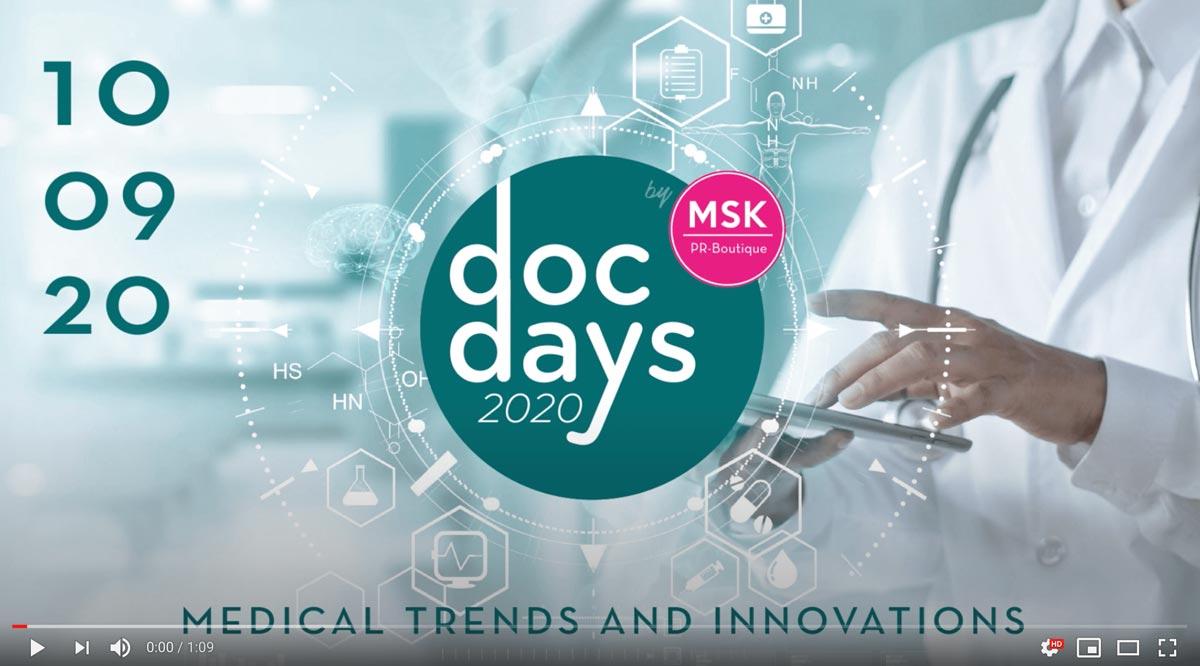 Docdays 2020 video screen youtube