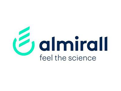 almirall feel the science logo